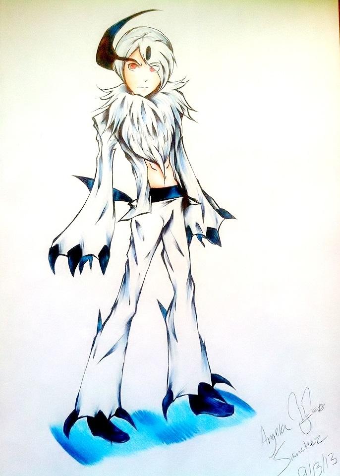 Absol In Human Form by snowconeXD on DeviantArt