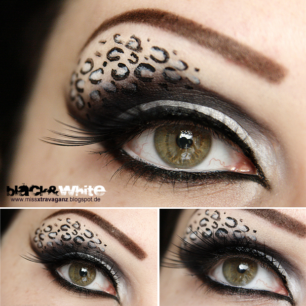 leopard eye makeup snow leopard eye makeup. Black Bedroom Furniture Sets. Home Design Ideas
