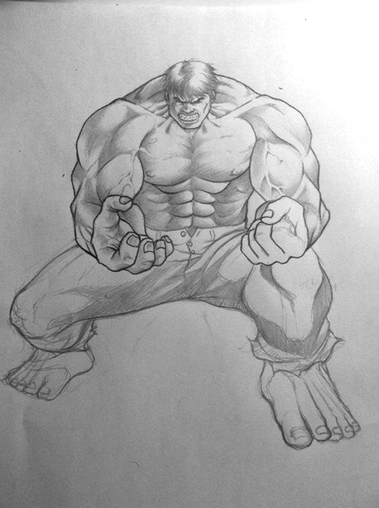 Hulk Tattoo By Levin Atanx ...