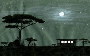 Night on the Savannah by Izar