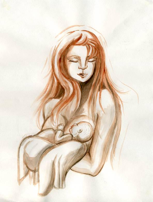 Mother and Child by Izar