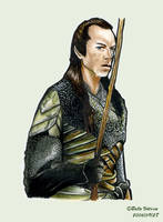 Lord Elrond Colored by Izar