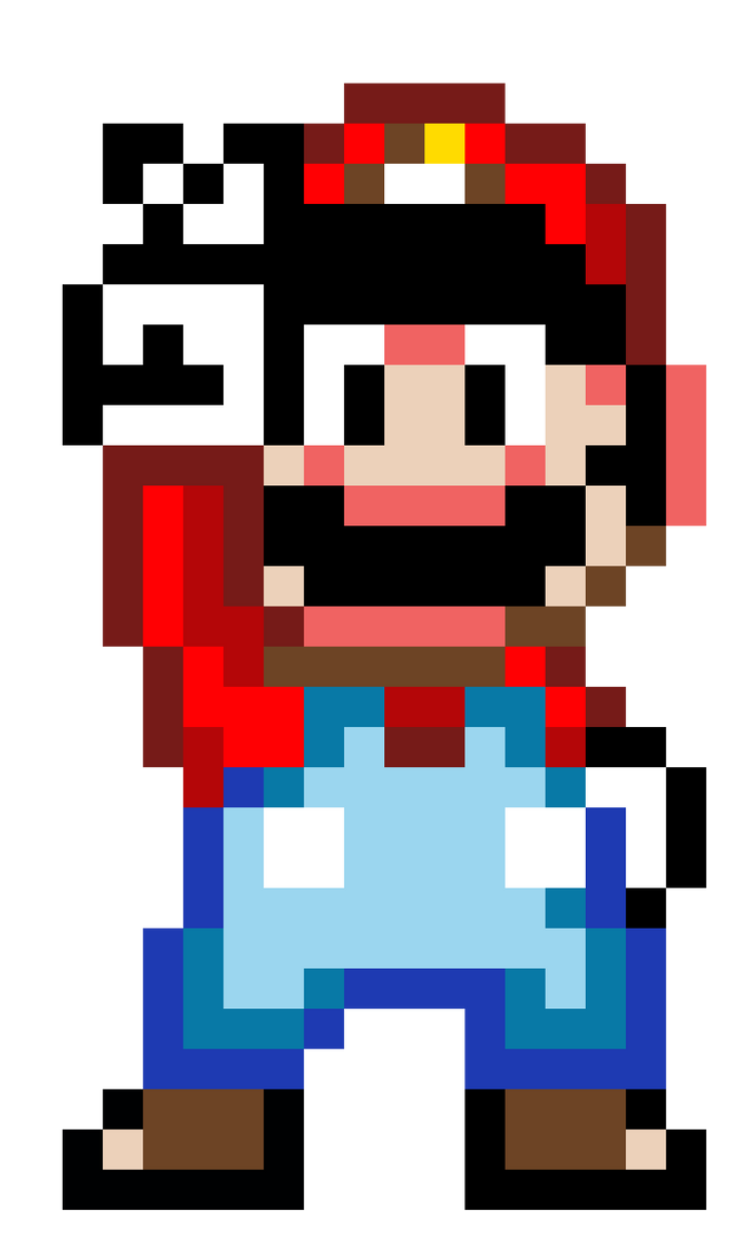 16-Bit Mario by NathanMarino on DeviantArt