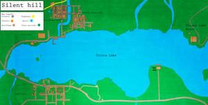 Toluca Lake map