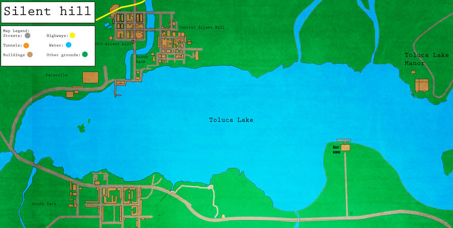 Toluca Lake map by Maki121 on DeviantArt