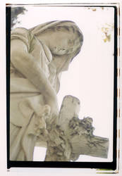 Cemetery: Statue III
