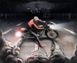 Bike accident by IgorKR