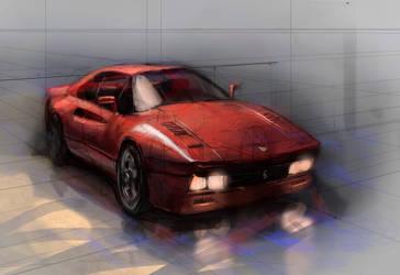 Ferrari Gto288color by IgorKR