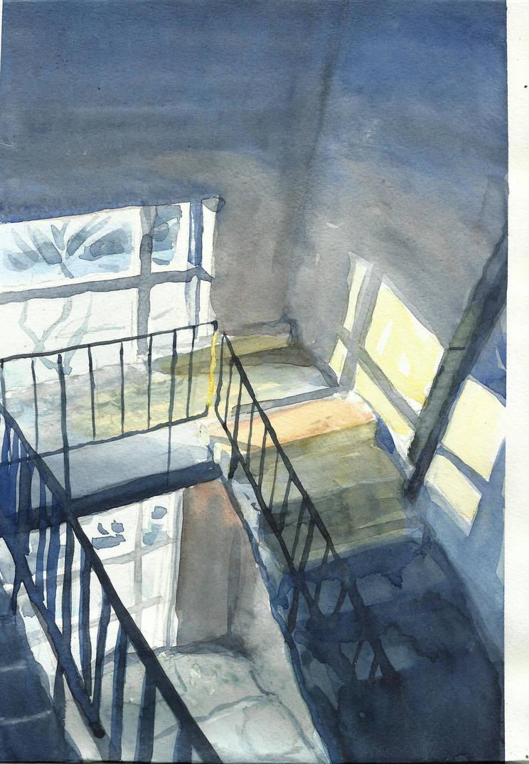 watercolor sketch by IgorKR