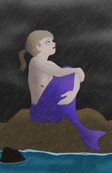 MerMay Day 18- Sorrow by CartoonJohnStudios