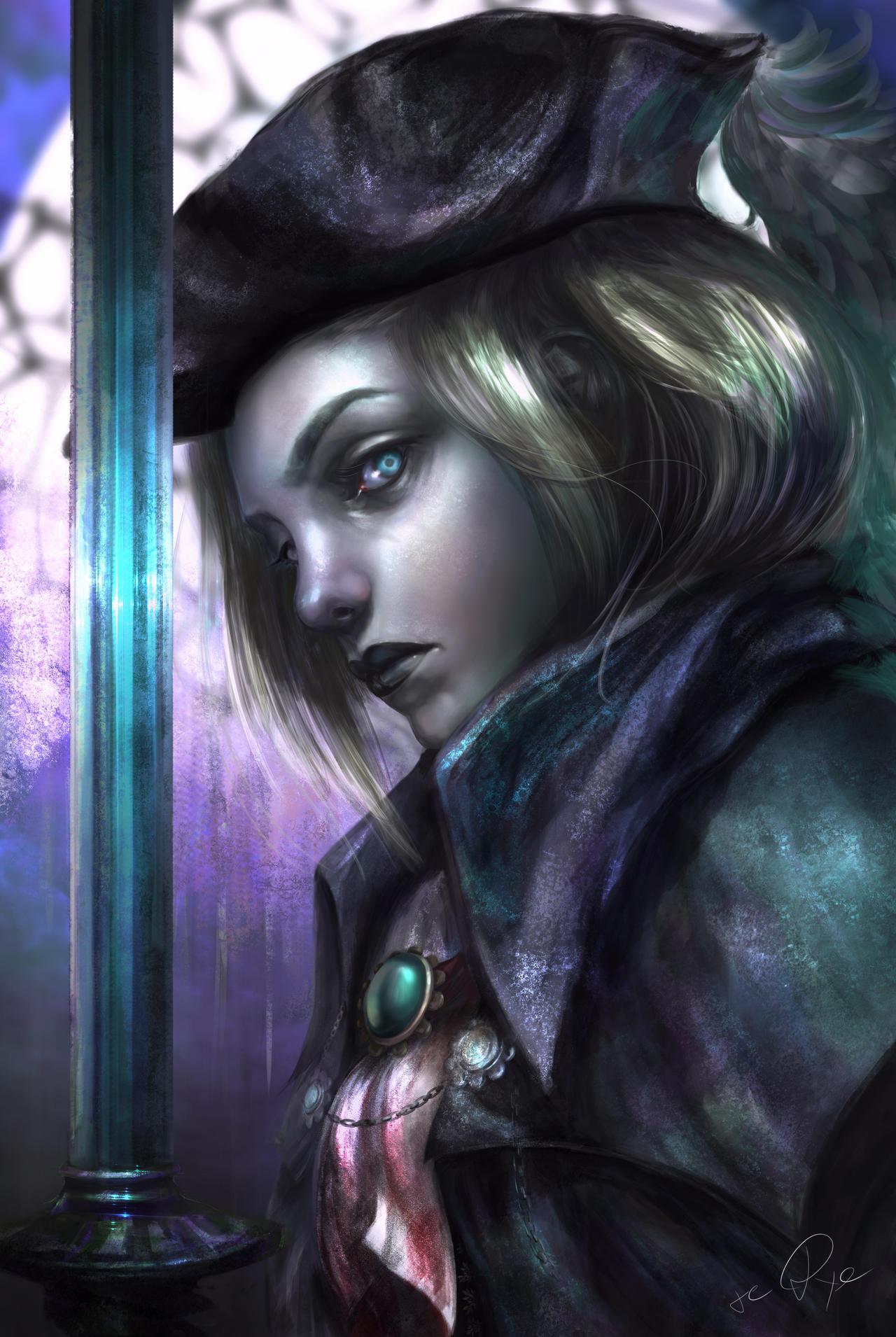 Bloodborne Fan Art Lady Maria By Re Dye On Deviantart