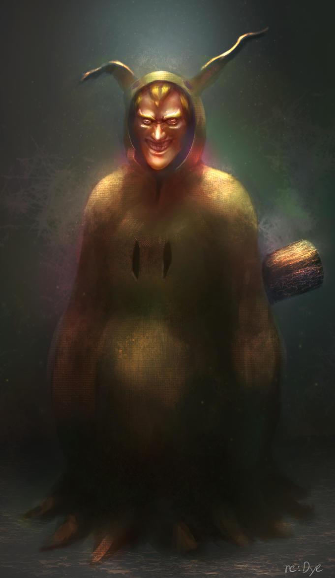 Mimikyu true form leaked... complete savage by Re-dye on DeviantArt