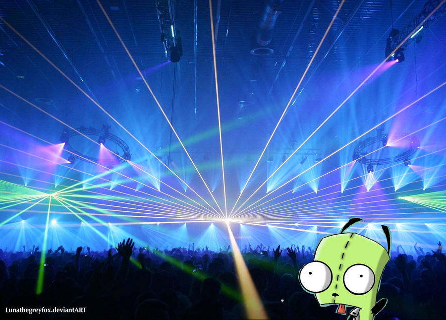 gir rave wallpaper by lunathegreyfox on deviantart