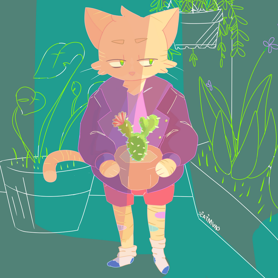 Plant lover by Praised4Catman