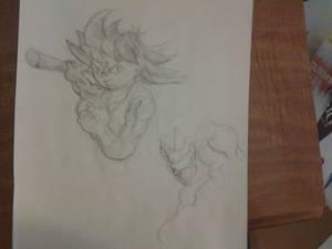 Kid Goku sketch