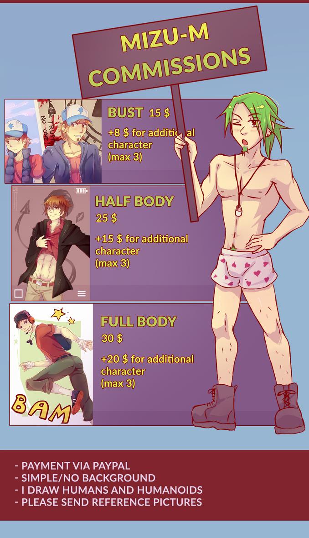 Mizu Commissions Info by Mizu55