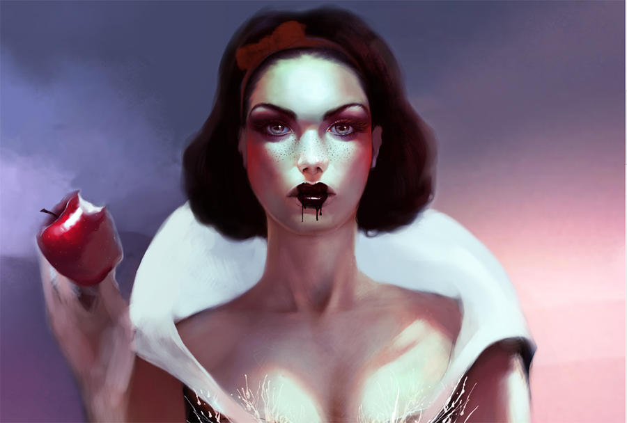 Snow White - Work in Progress by Kyena