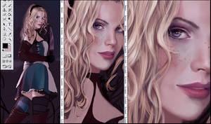 Coloring Alice and closeups