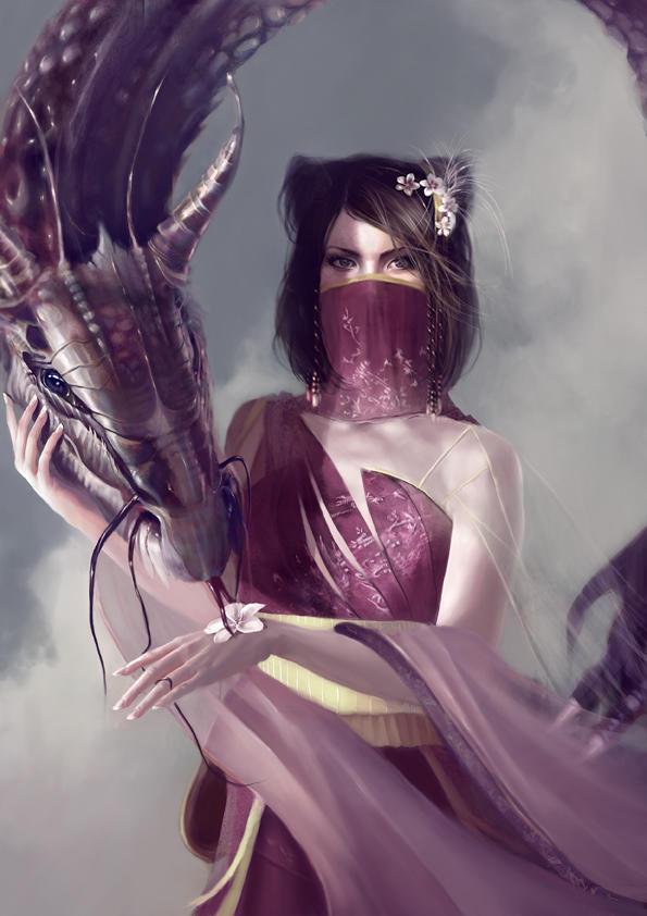 Portrait of a Wax - Dragon by *Kyena(Deviant ID) Portrait_of_a_Wax___Dragon_by_Kyena