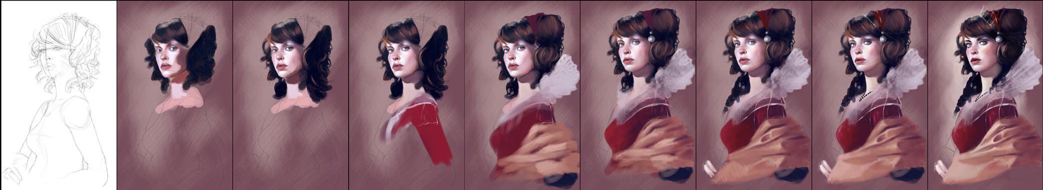 Red Queen Wip by Kyena