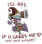 LOVE your SUPPORT! Lulu/Tristana