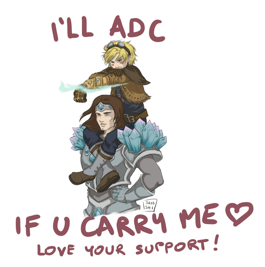 LOVE your SUPPORT! Taric/Ezreal by Sanshikisumire on ...