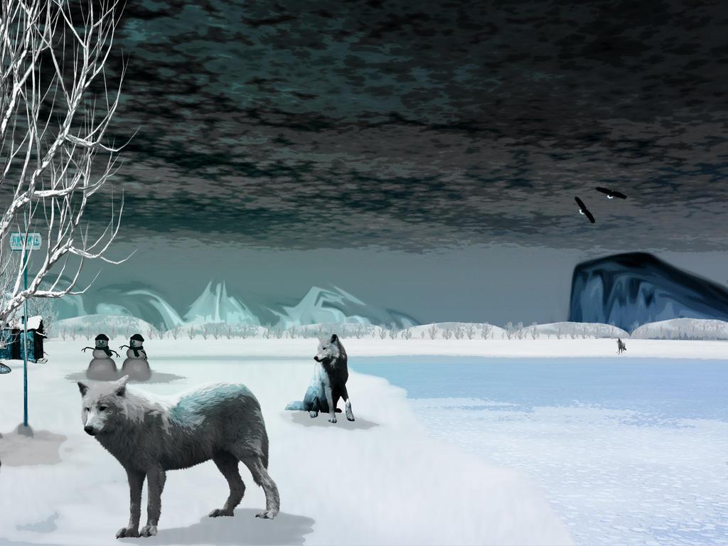 WinterBlues by KarmaRae