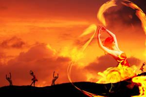 Fire Dancer by KarmaRae