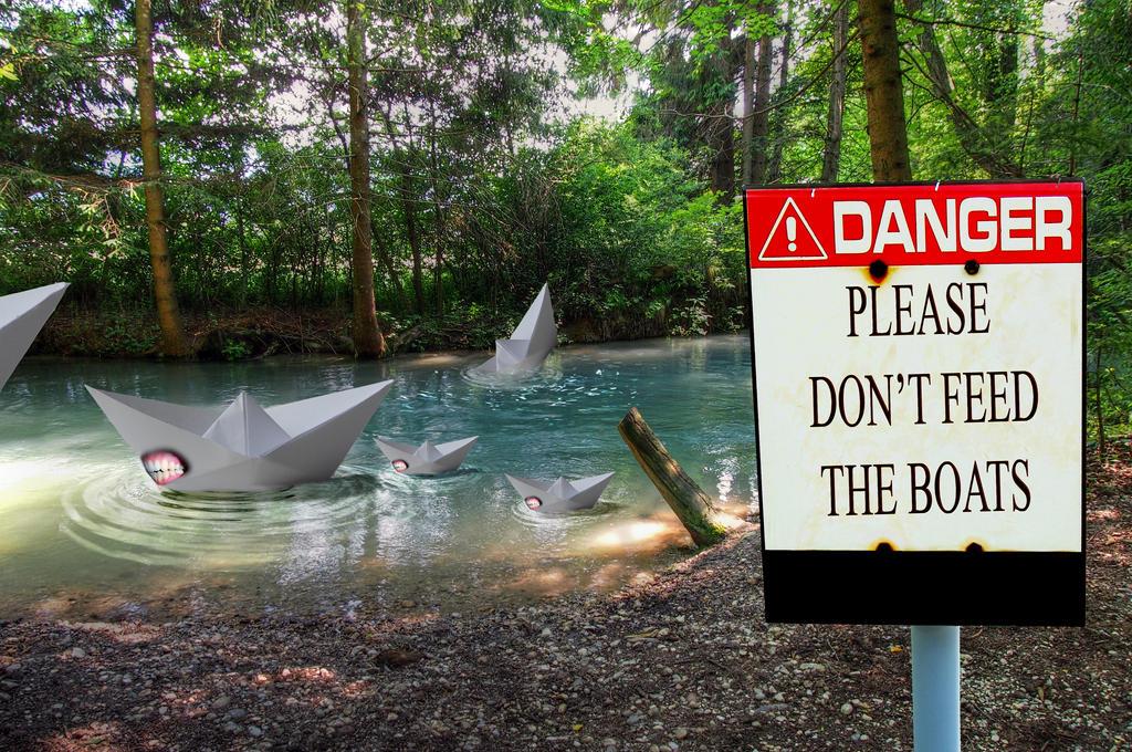 Don't Feed Them by KarmaRae