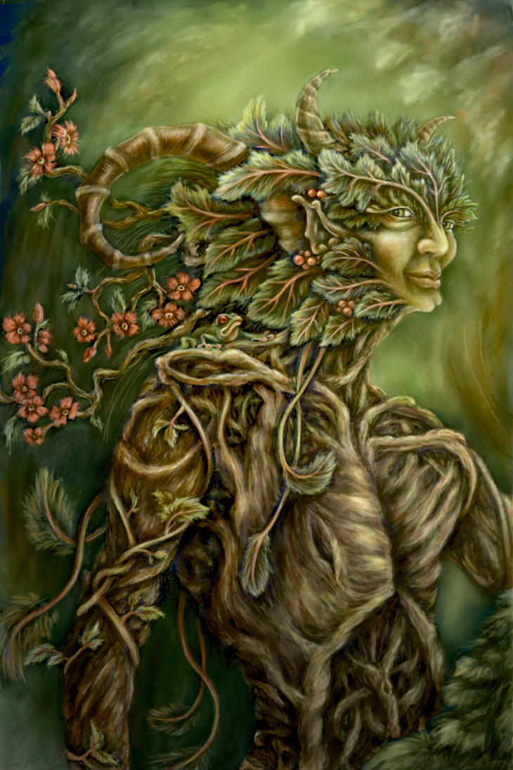 The Green Man by lioness7s