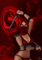 Scarlet-Mortal Kombat by AlyaTleulesova