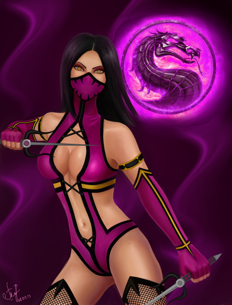 Mileena-Mortal Kombat by AlyaTleulesova - 725.2KB