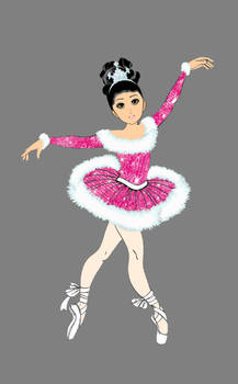 sequin ballet outfit- star by hsb1120