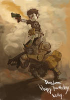 Robot 2 by milkyliu