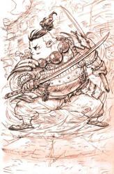 Samurai by milkyliu