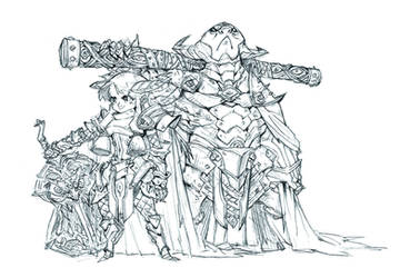 Princess Iron-Fan and Bull Demon King