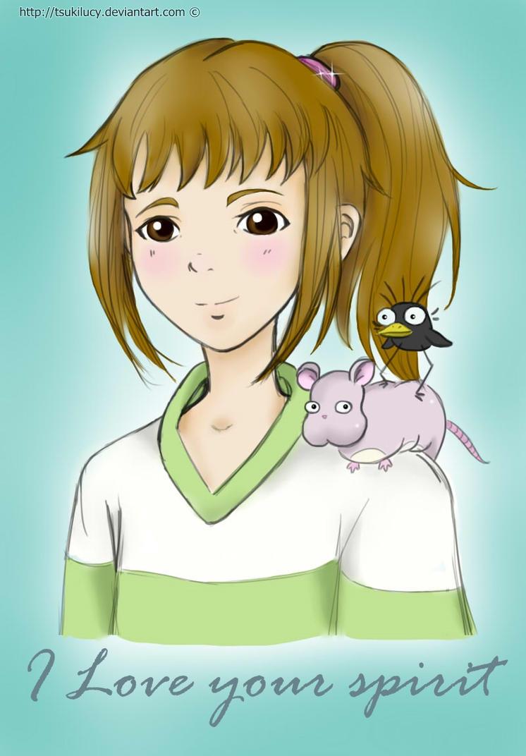 Chihiro Fan Art by TsukiLucy