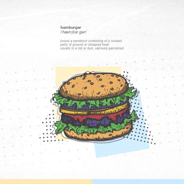 [our food series] hamburger by TranNgocMai