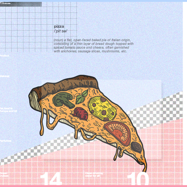 [our food series] pizza by TranNgocMai