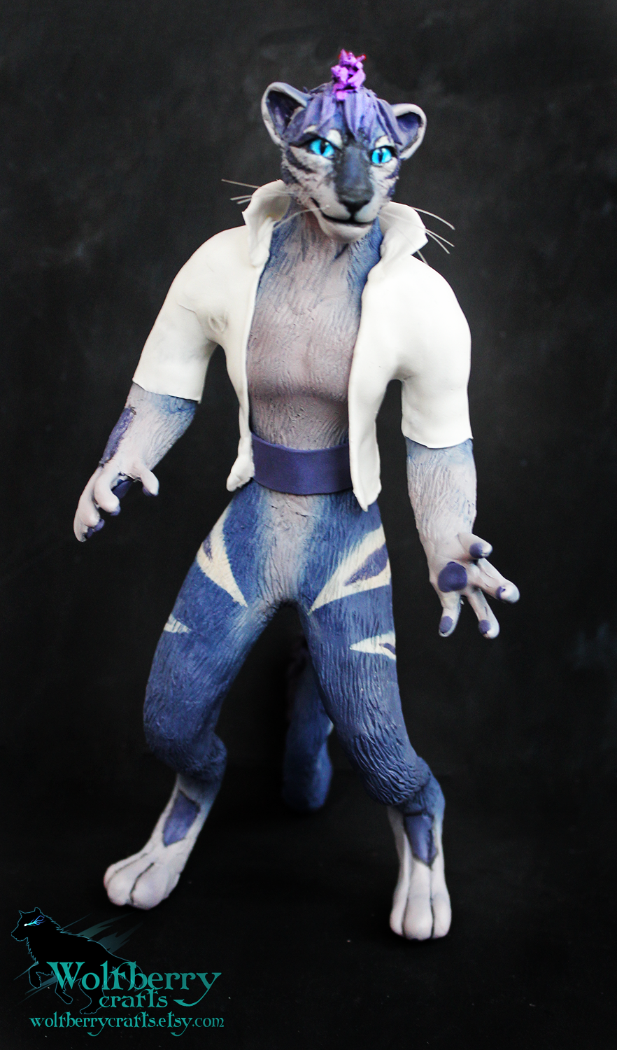 Commisson furry Reyes by WolfberryCrafts