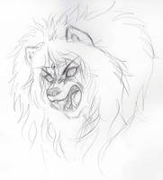I'm supposed to be a lion by LunaJMS
