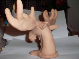 Sculpey Moose 3 by LunaJMS