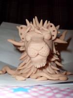 Sculpey Lion 1 by LunaJMS
