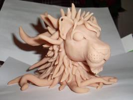 Sculpey Lion 4 by LunaJMS