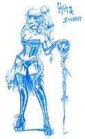 Yaya the witch by LunaJMS