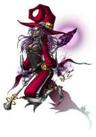 Dark sorcerer by LunaJMS