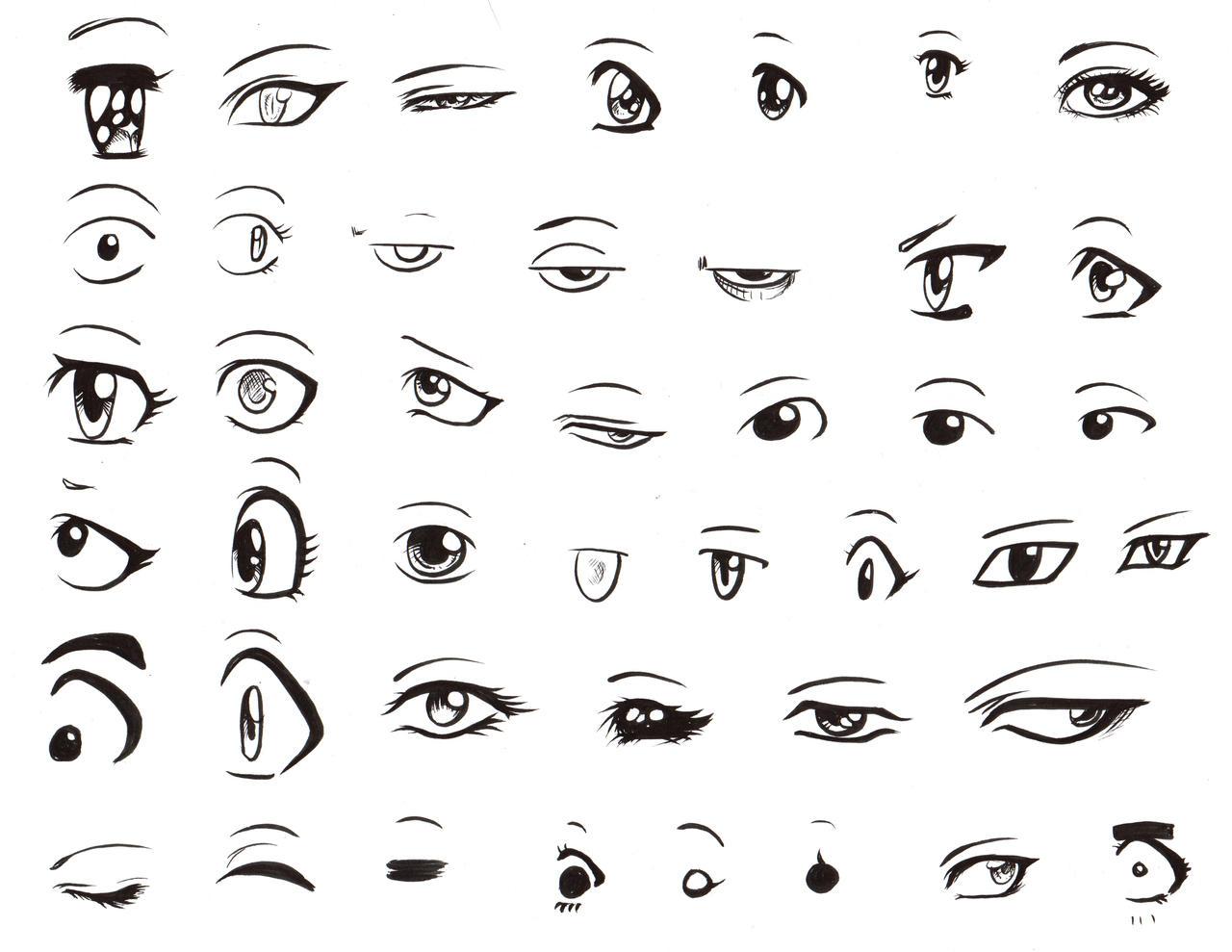 anime male eyes - HD1280×989