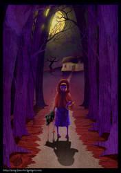 Little Red Murder Hood  Happy Halloween 2012 by LunaJMS