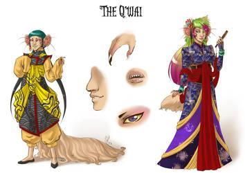 Vortex race The Q'wai by LunaJMS