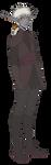 Delf the darkelf by LunaJMS